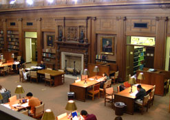 photo of HSL Austin Flint Reading Room circa 2003
