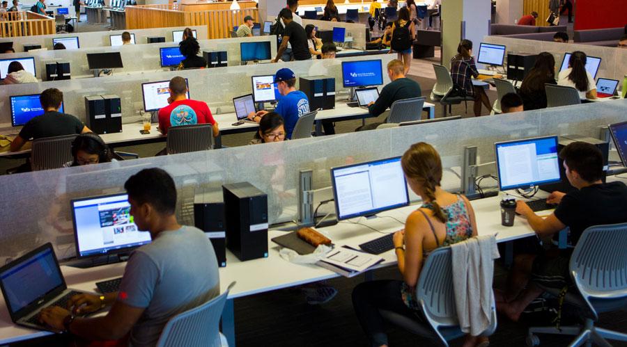 Ub Health Sciences Library Reserve Study Room