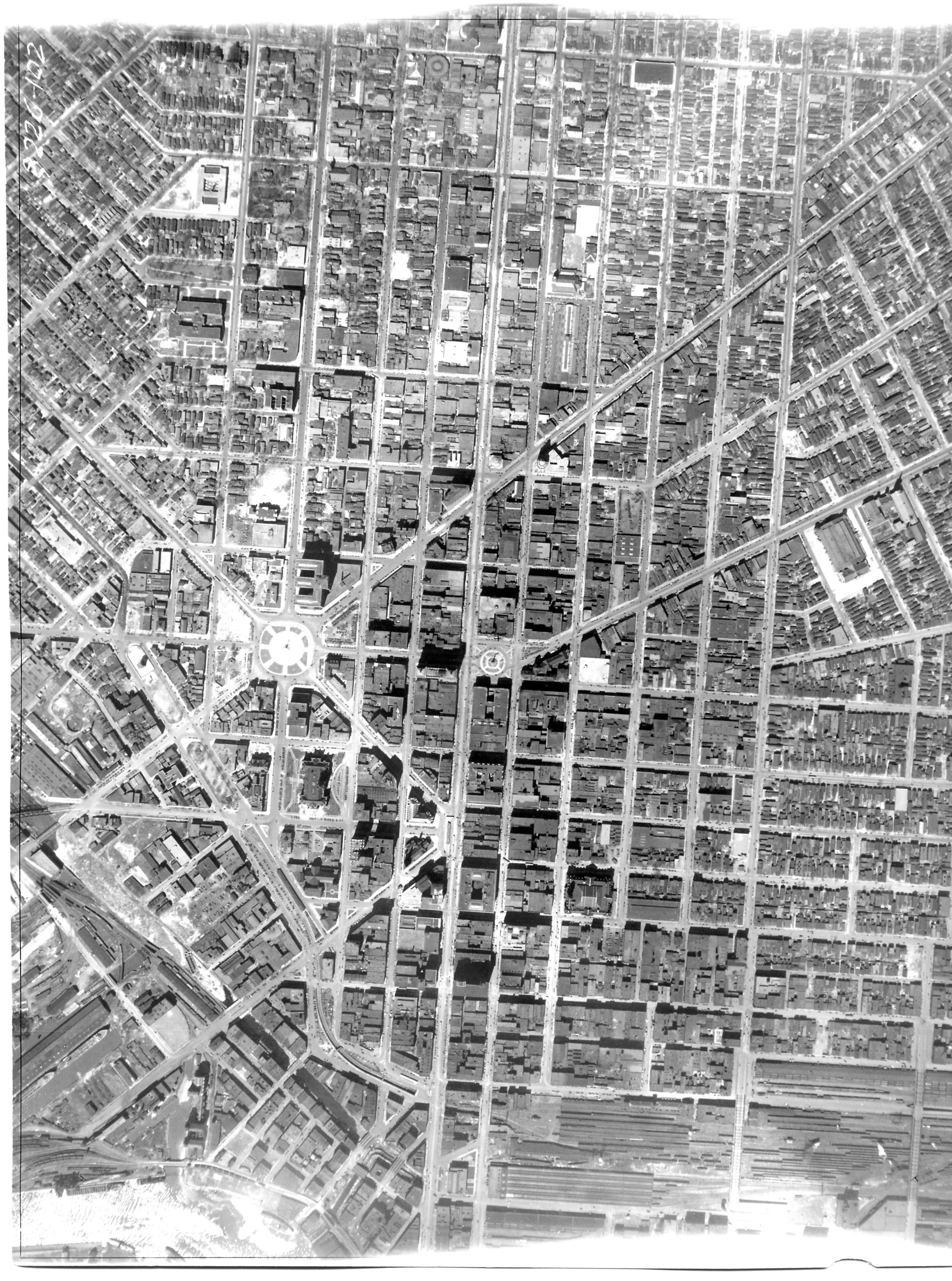 8226 1928 Aerial Photographs of Buffalo and WNY Research
