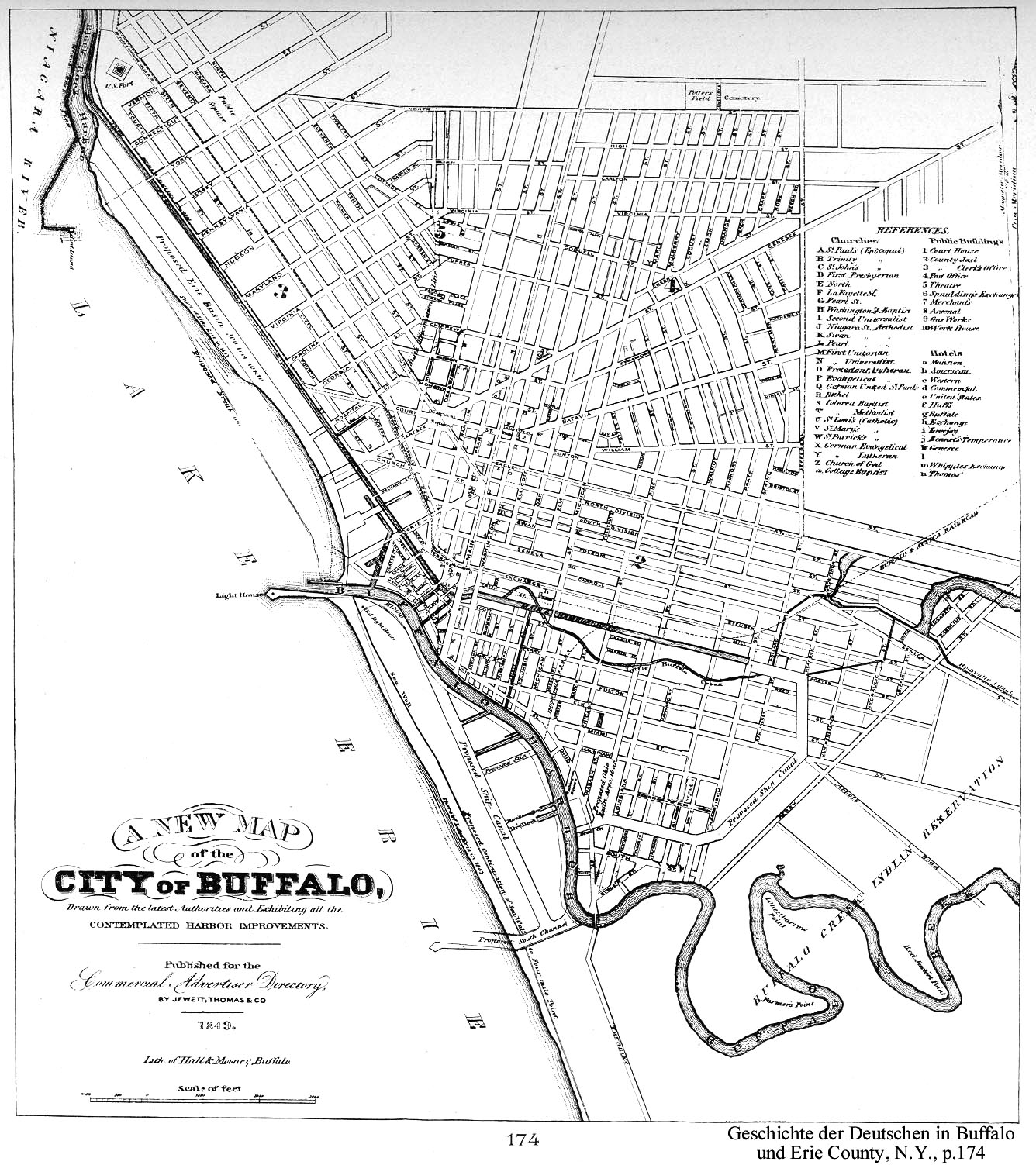 Online Maps - Buffalo, New York in Maps, Charts, and Images ... on