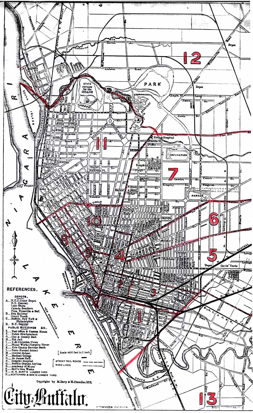 Online Maps Buffalo New York In Maps Charts And Images