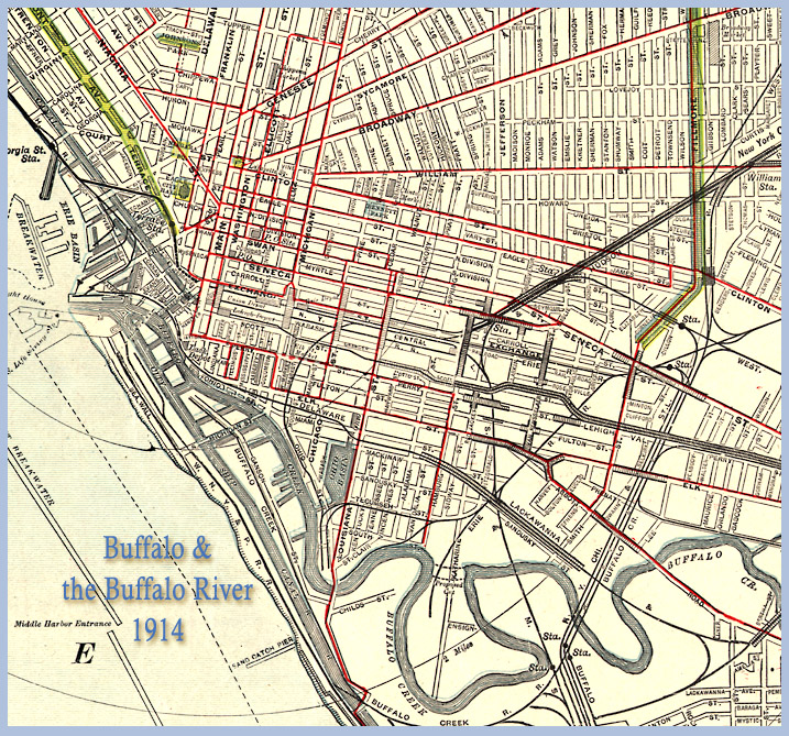Map Buffalo Ny BuffaloResearch. Historic Maps of Buffalo, Erie Map Buffalo Ny