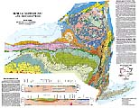 thumbnail of scale geological map of New York State
