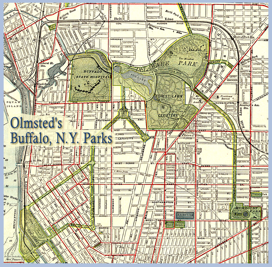 Olmsted Parks And Parkways In Buffalo 1914 University At Buffalo