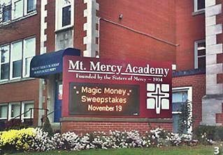 City of buffalo neighborhoods university at buffalo for Mount mercy library