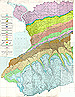 thumbnail of geological map of Erie County