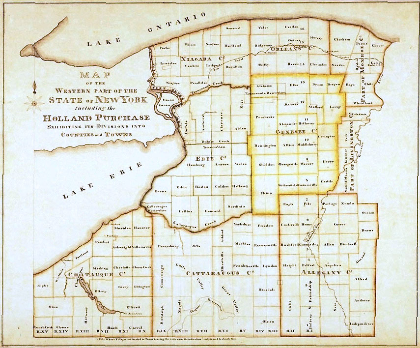 Home Western New York In Maps Charts And Images Research - Ny map with counties and cities