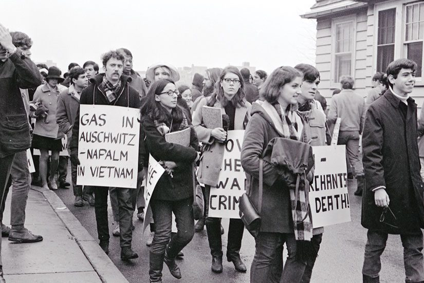 Protesters in 1967