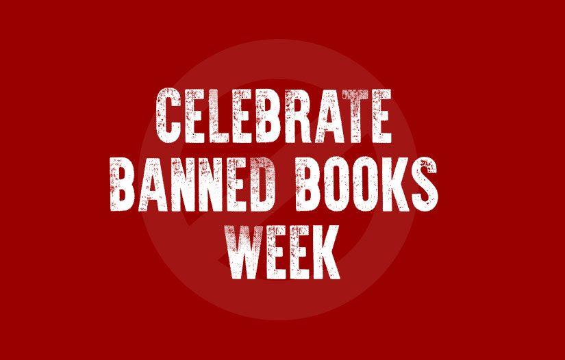 Celebrate Banned Books Week banner