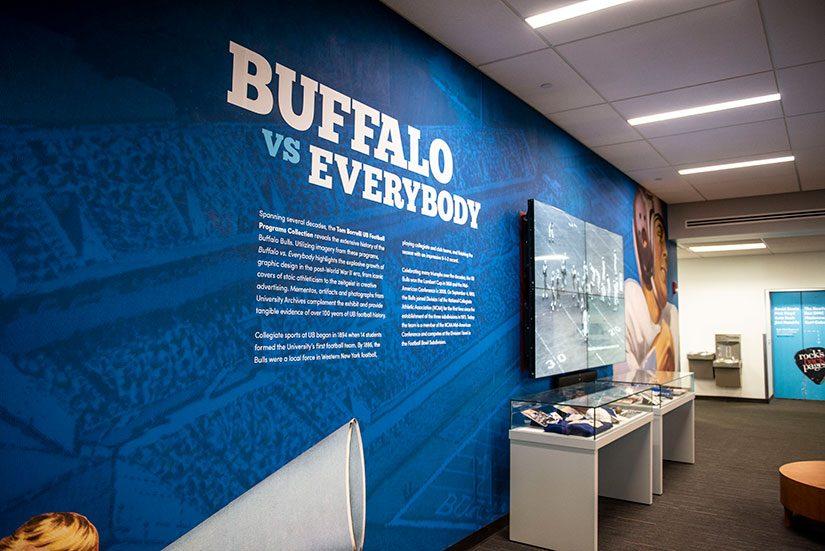 Buffalo vs Everybody wall