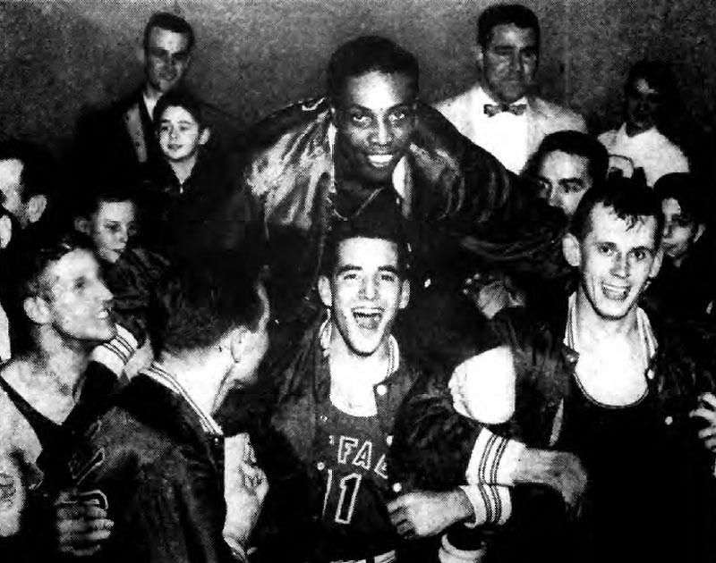 purchase cheap 17a75 e66d6 1954-1955 Buffalo Bulls Basketball - UB Sports University at ...