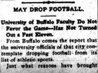 May Drop Football
